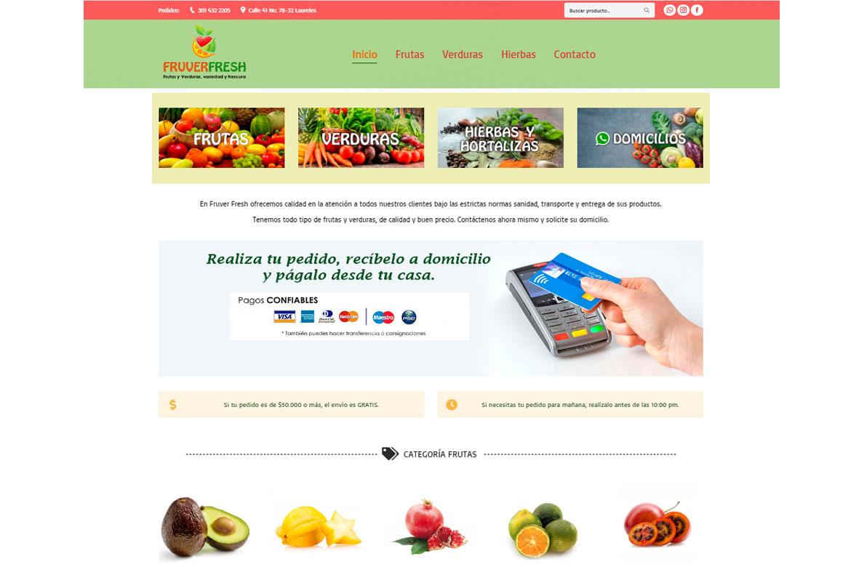 Frutas y verduras en Medellin
